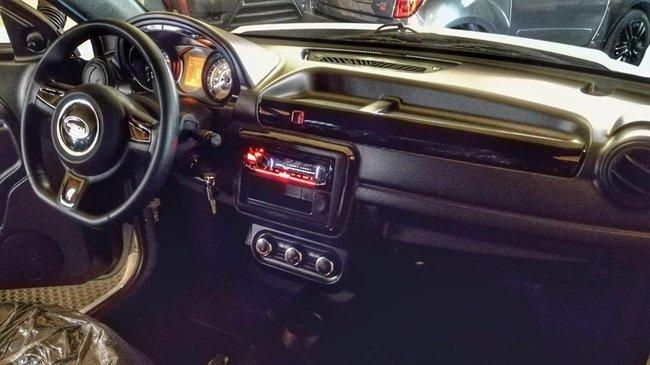 interno di un'auto