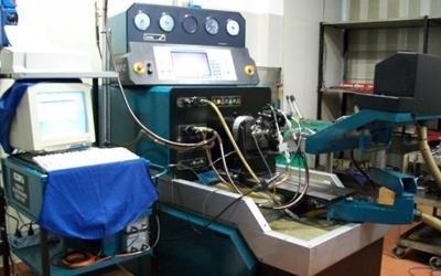 attrezzatura pompa iniezione