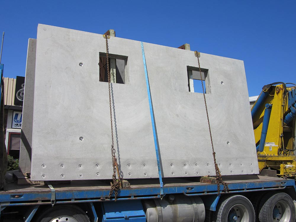 large concrete slab