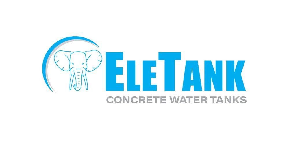 eletank concrete water tanks logo