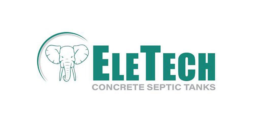 eletech concrete septic tanks logo
