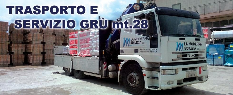 SERVIZIO GRU mt.28