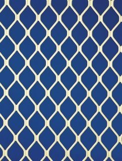 blue and white mesh