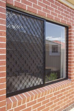 brick exterior with window