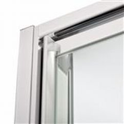 white frame of window