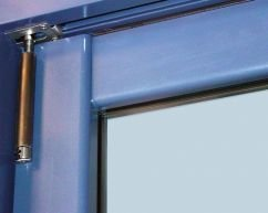 close up of bifolding door