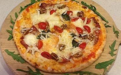 pizza su legna