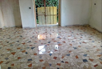 pavimento dopo la lucidatura