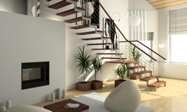 scale che portano al primo piano