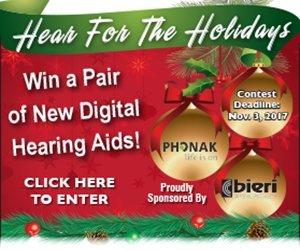 Win a Pair of New Digital Hearing Aids - Bieri Hearing!
