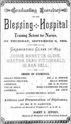 First nursing school graduation in late 1800s was spectacle