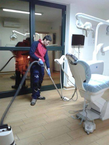 Pulizie in studi medici