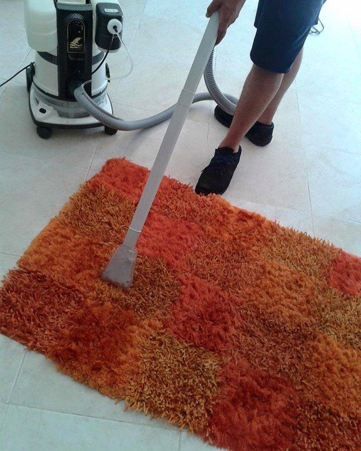 Pulizia di tappeti