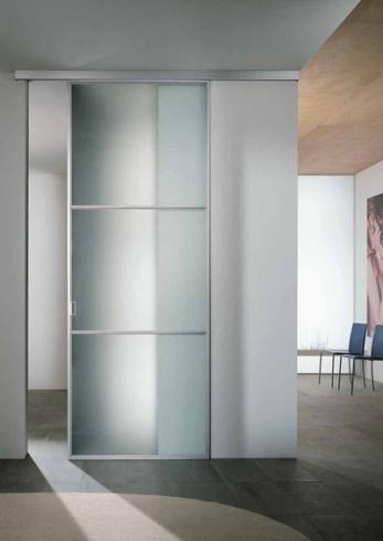Realizzazione porta in vetro Vetreria Ascolese