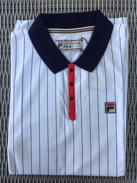 white striped tshirt