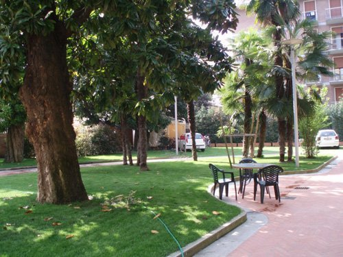 giardino del collegio universitario