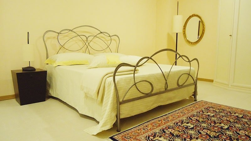 occasioni camere da letto di esposizione - macerata - arredamenti ... - Letto Foglia Argento Fantasy Bontempi