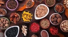 cucina speziata, cucina orientale aromatizzata, spezie gastronomiche cinesi