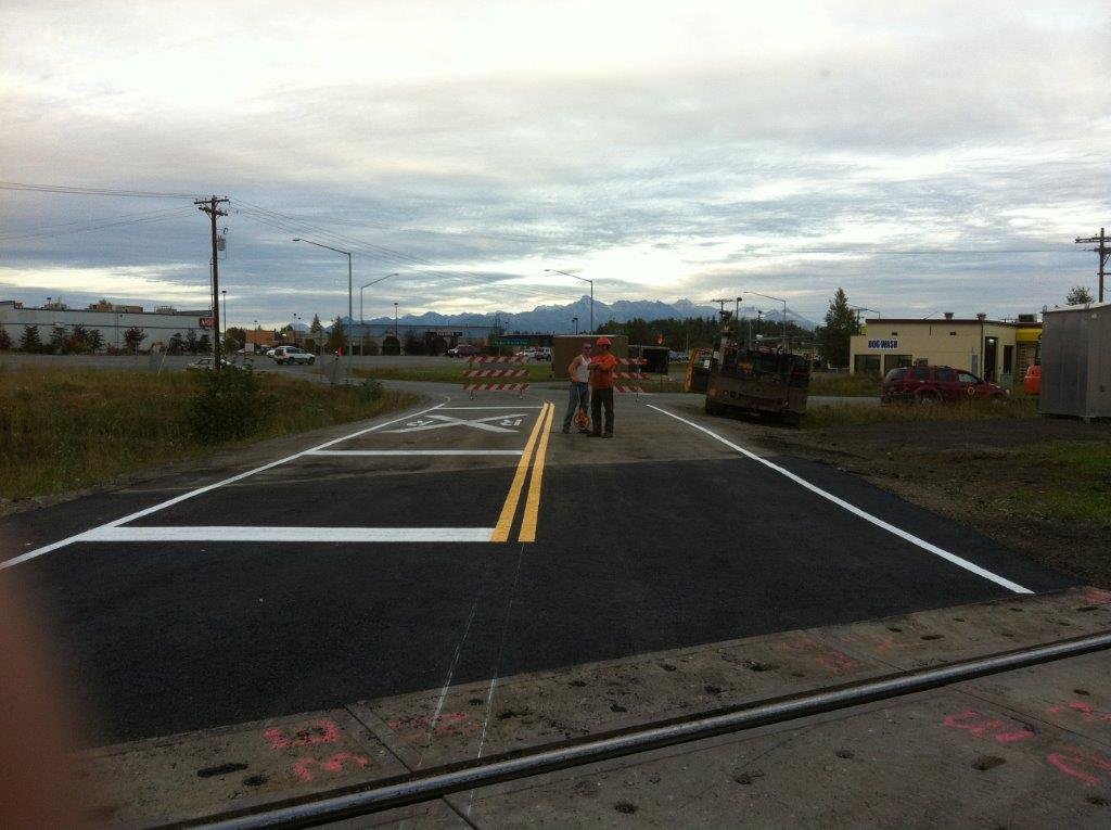 Commercial asphalt paving and sealcoating in Wasilla, AK