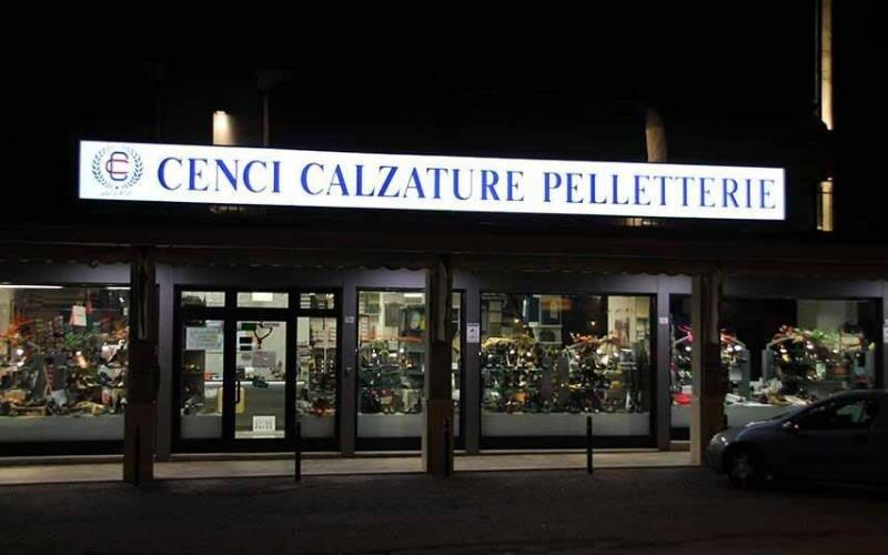 pelletteria e vendita calzature Cenci