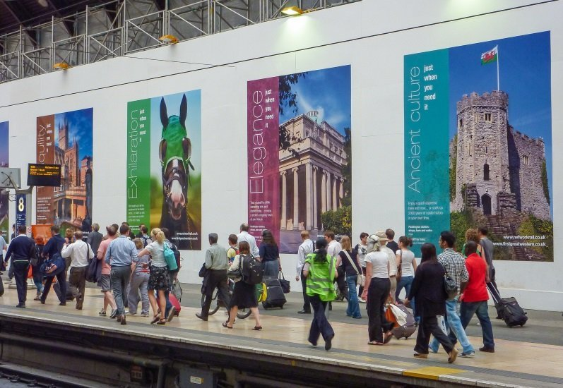 External Signage And Display Graphics Branding