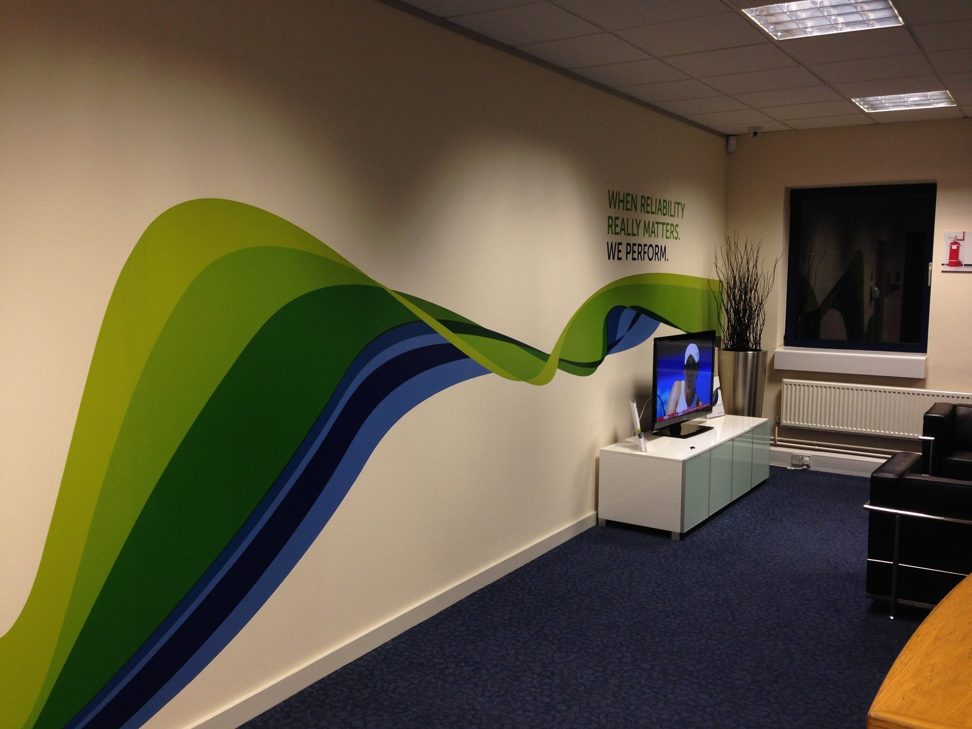 Internal Signage And Display Graphics Wallpaper