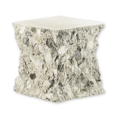 cubo di calcestruzzo