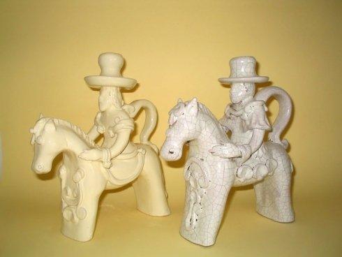 Cavalieri bianco antico