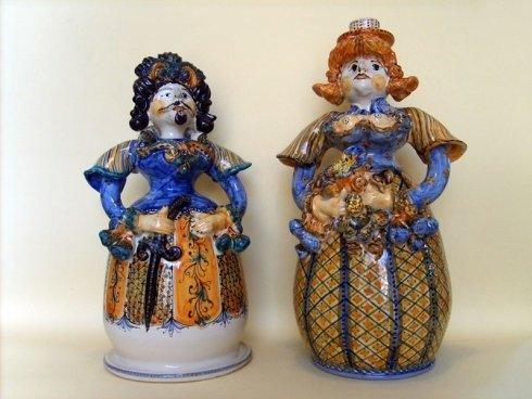 pupe in ceramica