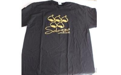 maglietta stampa oro