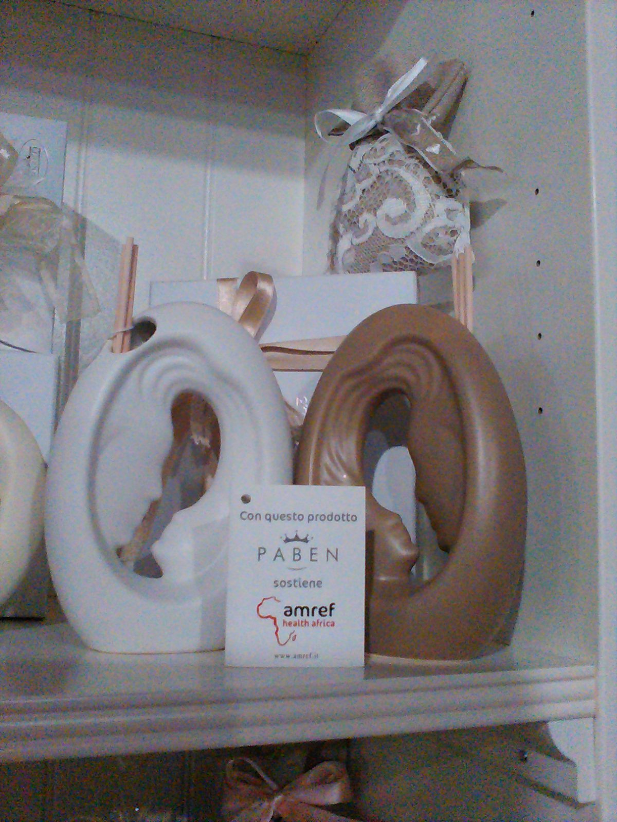 Soprammobili in ceramica a marchio Paben
