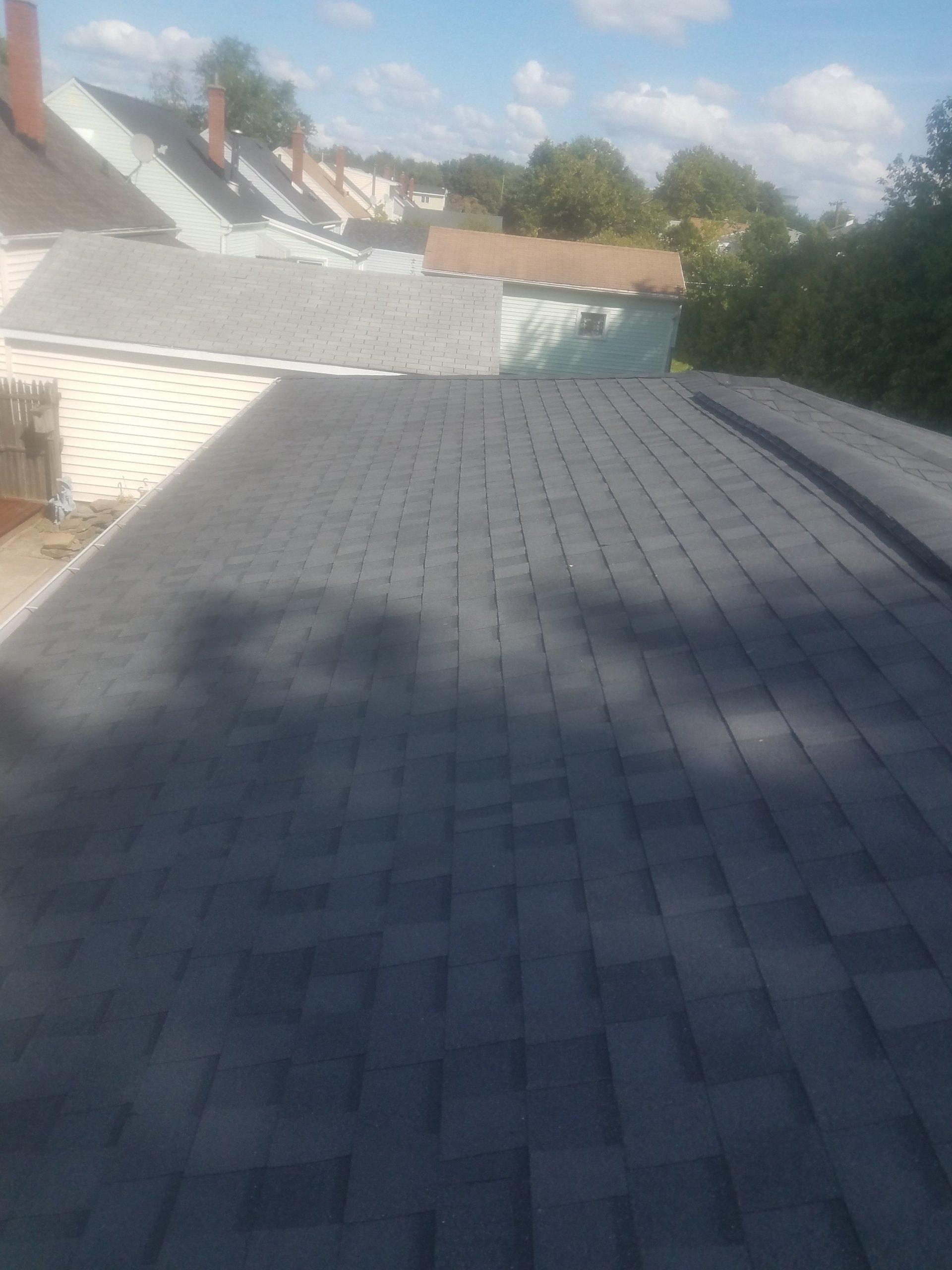 Garage Roof Tear Off & Installation