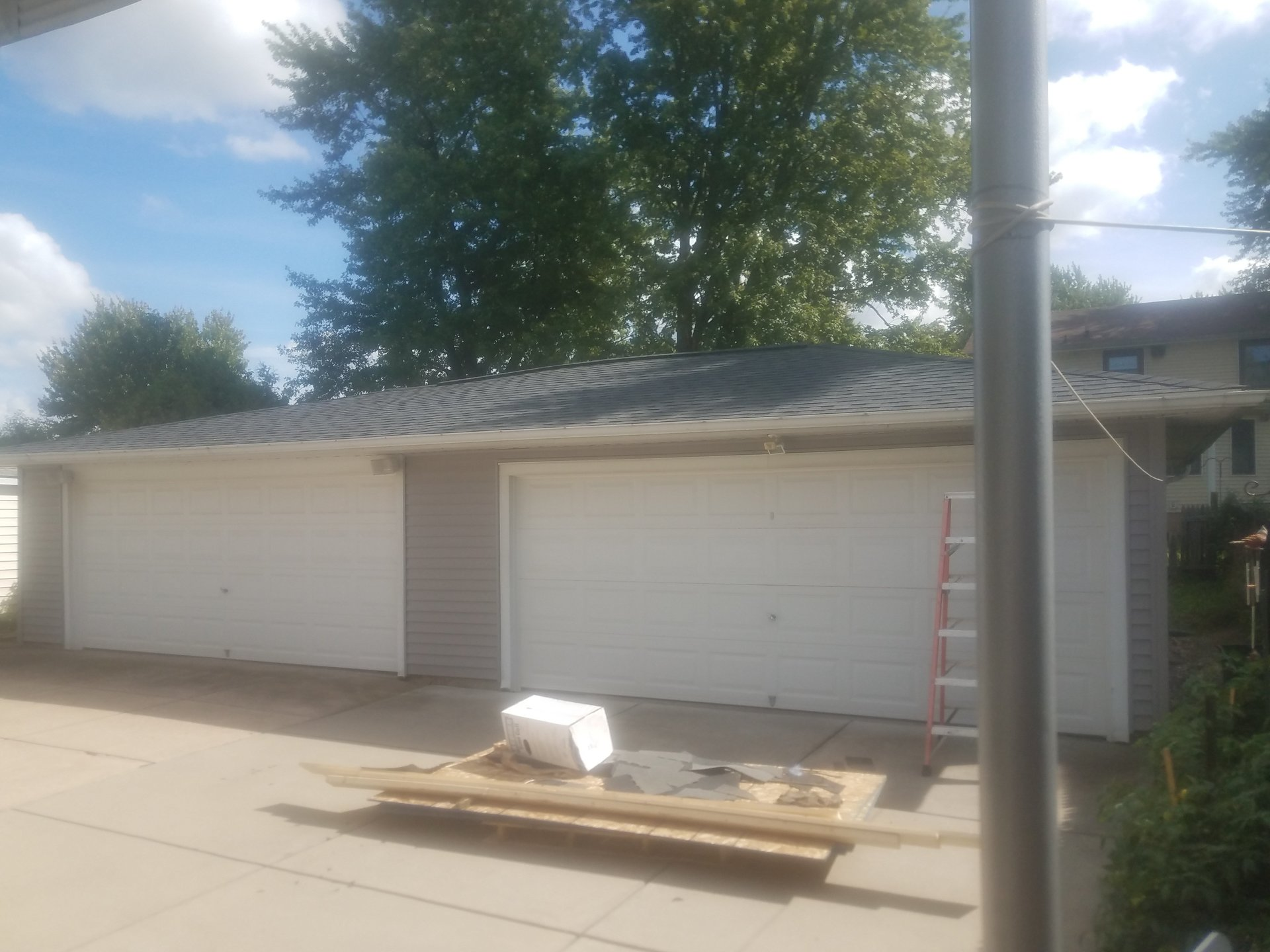 Garage Roof Tear Off & Installation