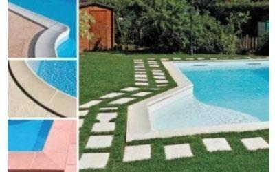 Bordi e camminamenti piscina