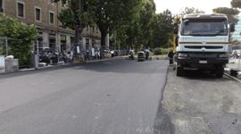 Asfaltatura di strade ed autostrade