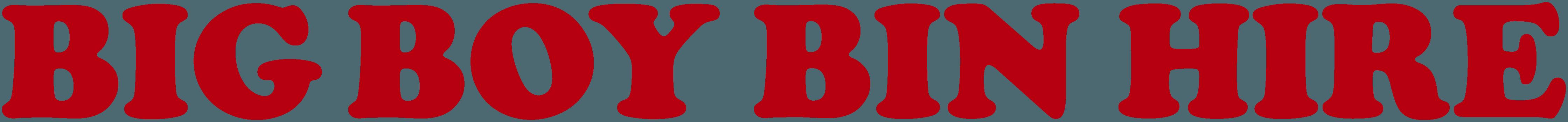 big boy bin hire logo