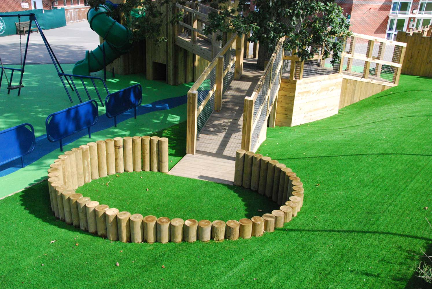 learning through play bespoke playground design london