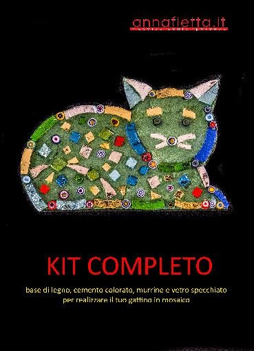 Mosaic cat kit