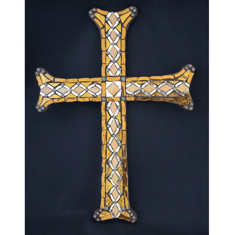 mosaic cross