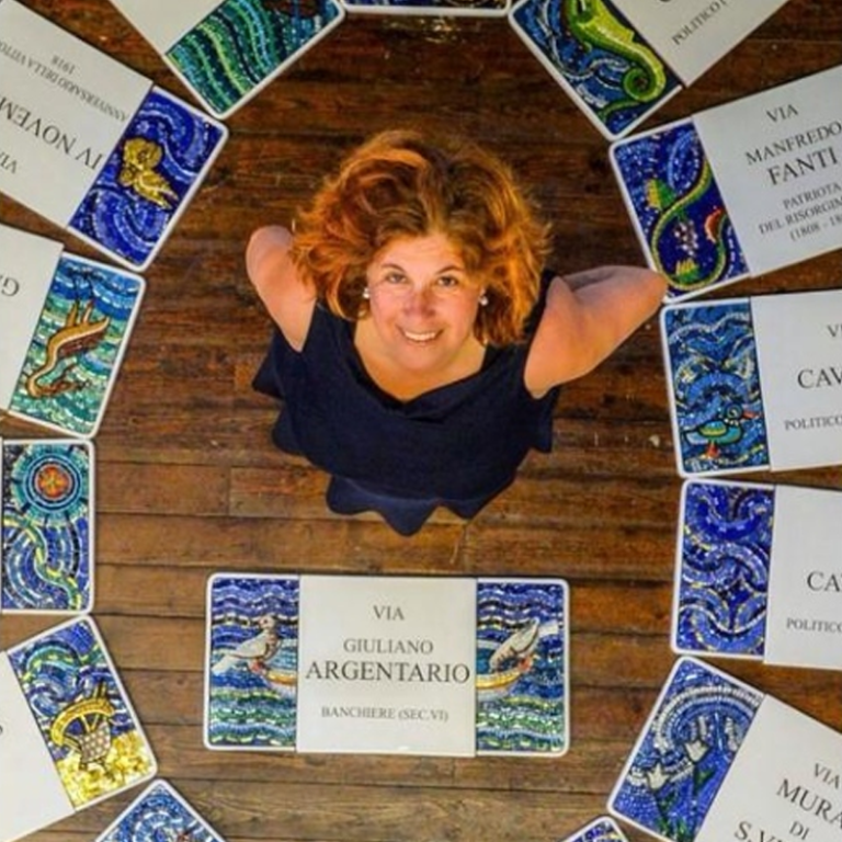 mosaici centro storico Ravenna
