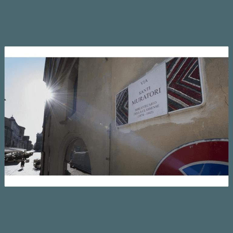 dettaglio targhe toponomastiche Ravenna