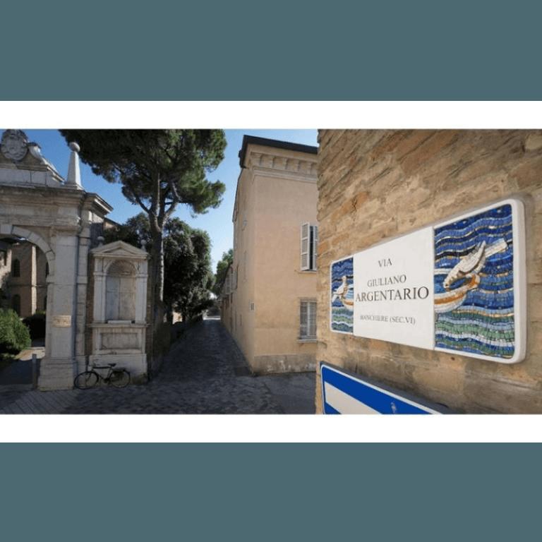 mosaici bizantini centro storico Annafietta