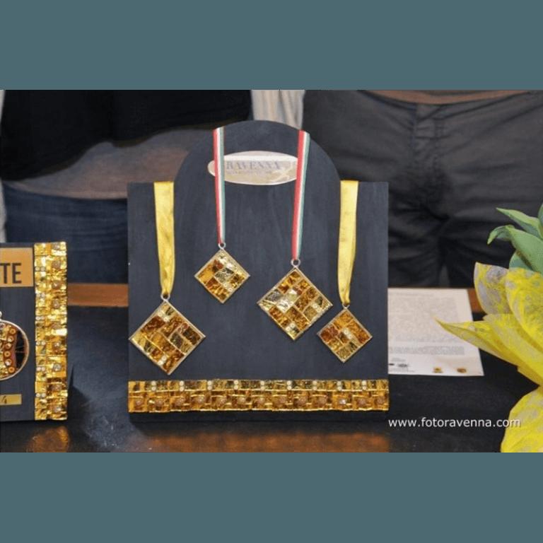 medaglie mosaico Ravenna
