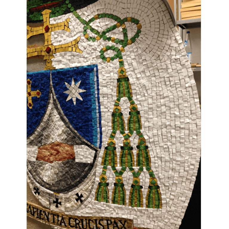 Bishop parish coat of arms san vittore ravenna