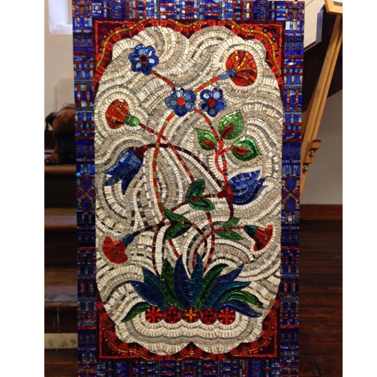 commissioned works in mosaic