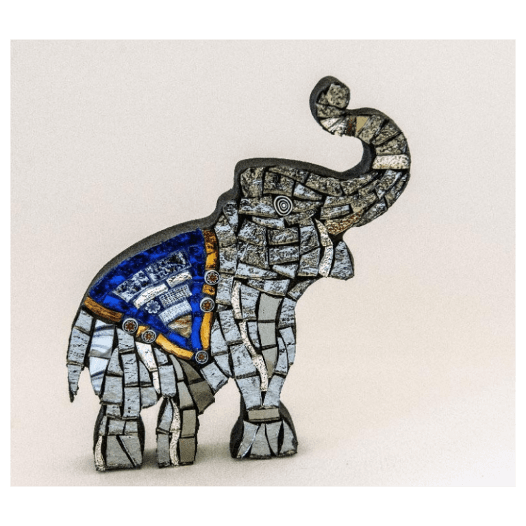animals in mosaic