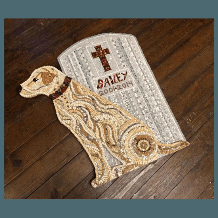 dog tomb mosaic