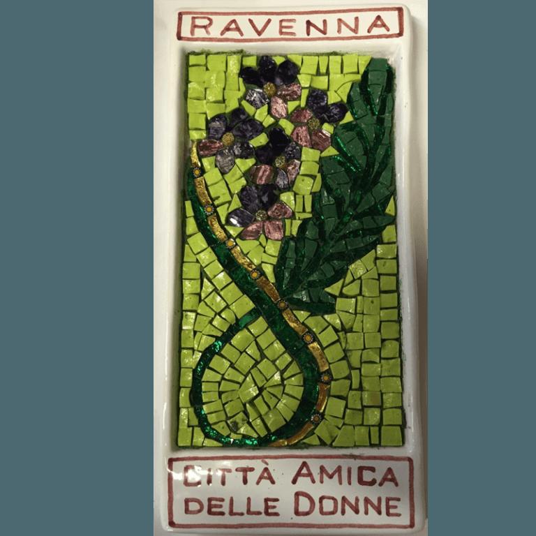 mosaici linea rosa ravenna