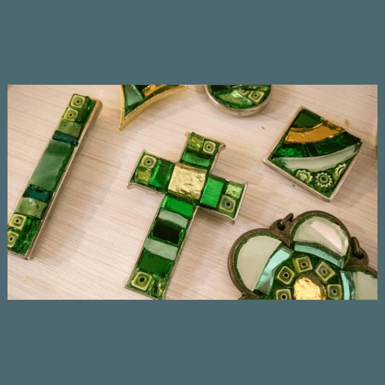 mosaic costume jewellery