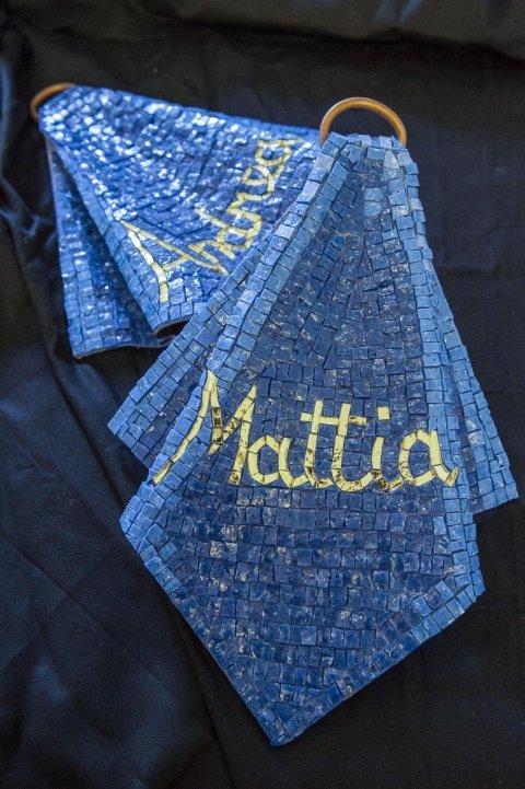 drappo in mosaico